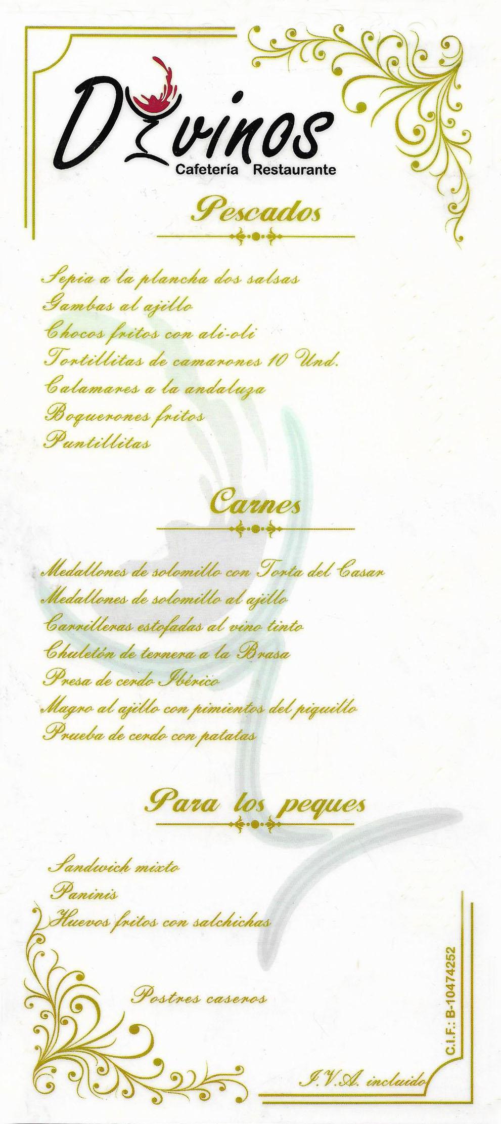 RESERVA RESTAURANTE CAFETERIA CACERES DIVINOS - ESTACION DE AUTOBUSES